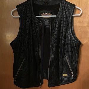 Harley Davidson Perforated Leather Vest